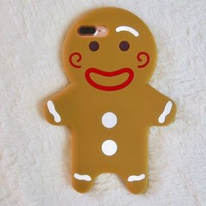 Accessories - Gingerbread Cookie Man Christmas iPhone Case